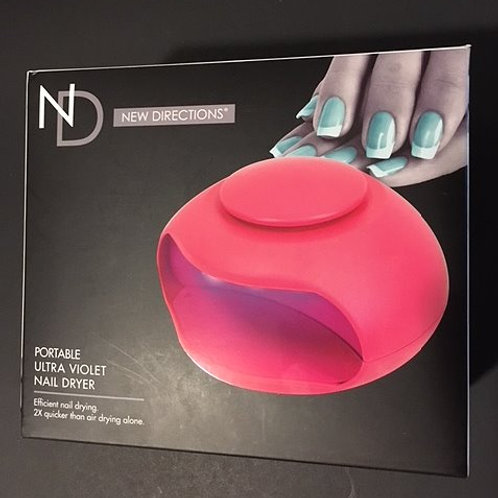 Portable Ultra Violet LightNew Directions Nail Dryer
