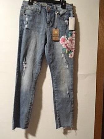 Juniors Size 5 Crop Jeans