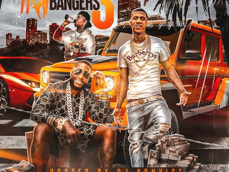 Real Life Artists RealLifeKoolaid, NoxBond, P.Gutter featured on DJ Konvict's Trap Bangers Vol 3