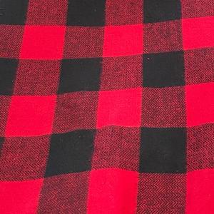 red black check
