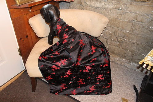 W Couture Geisha Inspired Gown