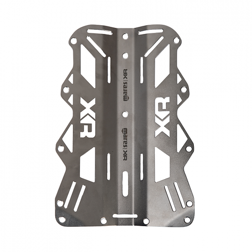 Mares Backplate Stainless Steel 6 mm - XR Line