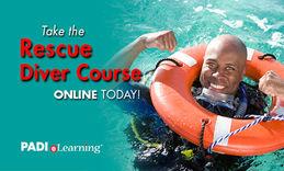 PADI eLearning, PADI Rescue Diver, PADI Touch, Räddningsdykare, PADI Räddningsdykare, Dykkurs, Dykkurser, Dykutbildning, Dykning, Referral, Påbörja hemma avsluta utomlands, Livräddning