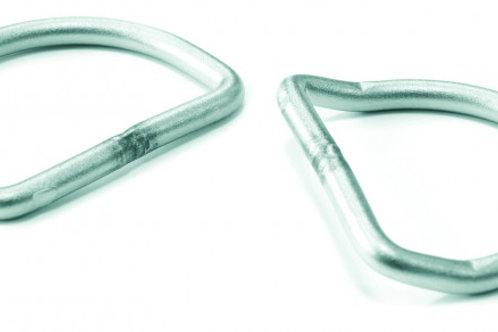 Mares D-Rings Bent SS316 10 pc - XR Line