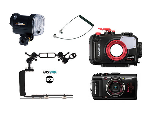 Olympus Set TG-4 UW Housing Strobe Set YS-01