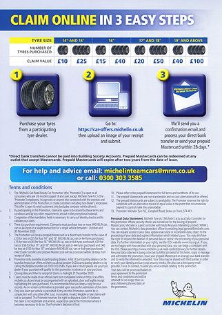 Michelin tyres X Spurt tyres Ipswich IP4 2ER 01473 254596