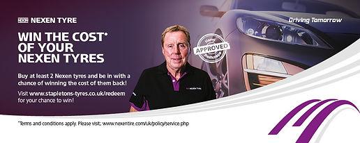 Nexen Promotion Harry Redknapp X Spurt Tyres 01473254596
