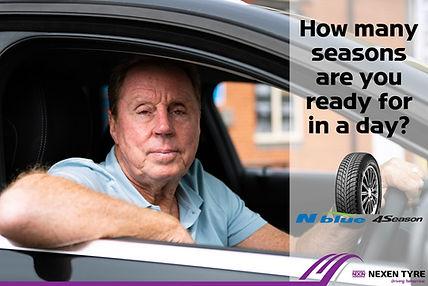 Harry Redknapp Nexen X Spurt tyres Ipswich