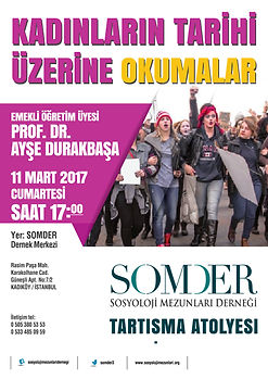 SOMDER Tartışma Atölyesi-3 Kadınların Ta