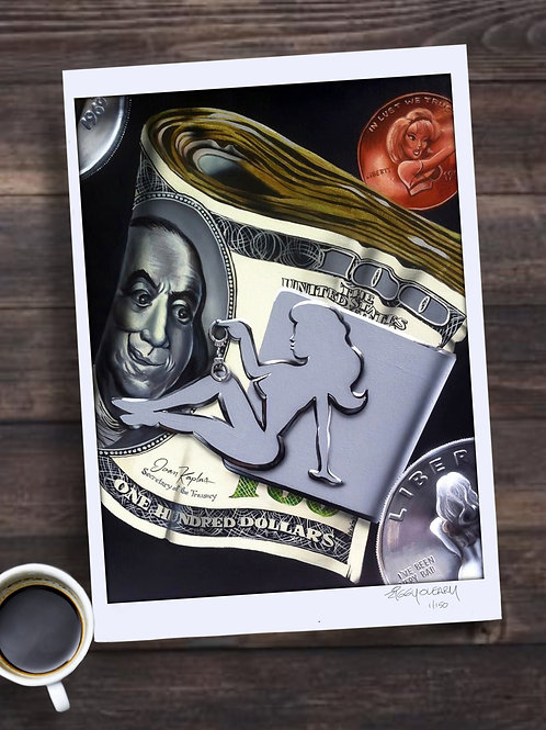 Dirty Money Limited Edition Print