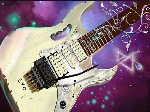 """Steve Vai"" Limited edition print"