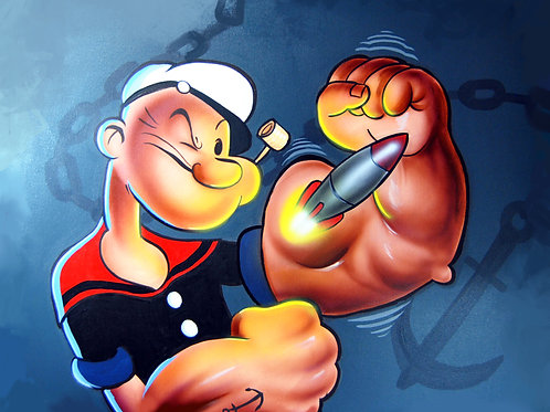 """POPEYE"" Limited edition print"