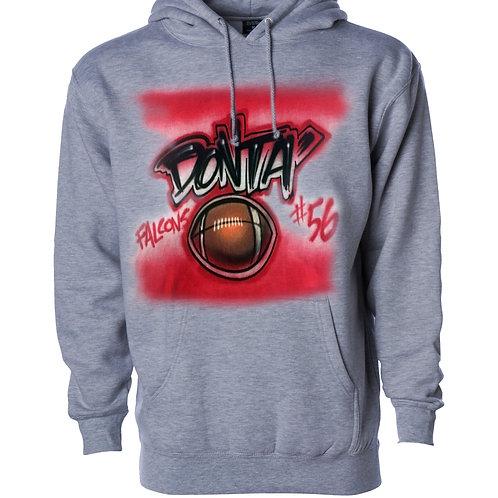 Sport Design Hooded Sweatshirt
