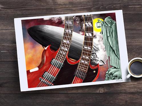 Jimmy Page 13X19 print