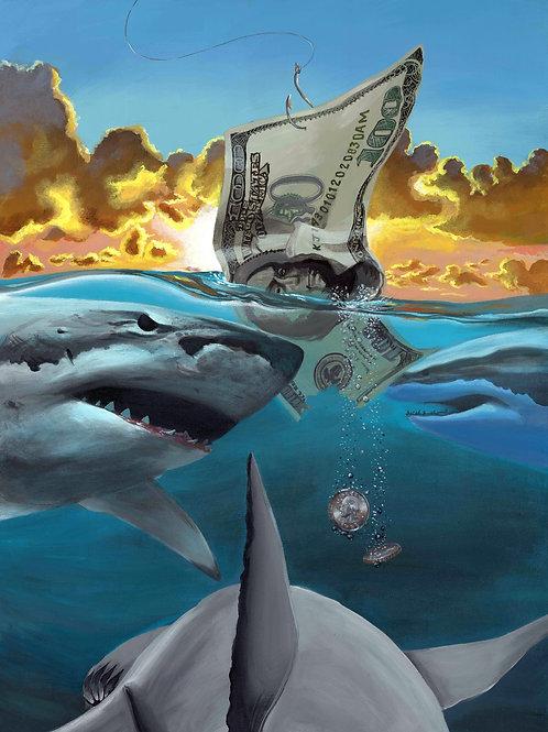 """Summer Dollars"" original painting"