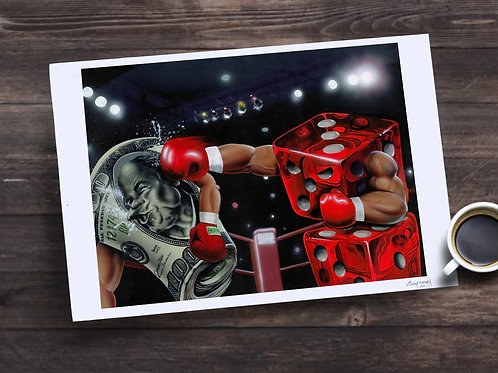 Rollin' with the Punches LimitedEdition Print