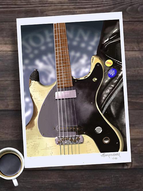 "Johnny Ramone "" 13X19 print"