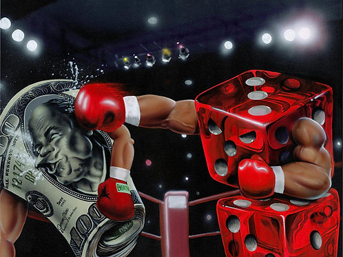 """Rollin with the Punches"" Limited  Edition Print"