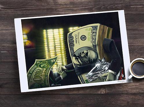 """Don Casheone"" 13X19 print"