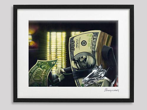 """""""Don Casheone"""" framed print"""