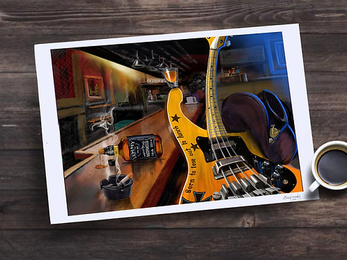 Lemmy Limited Edition Print
