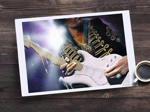Jimi Hendrix Limited Edition Print