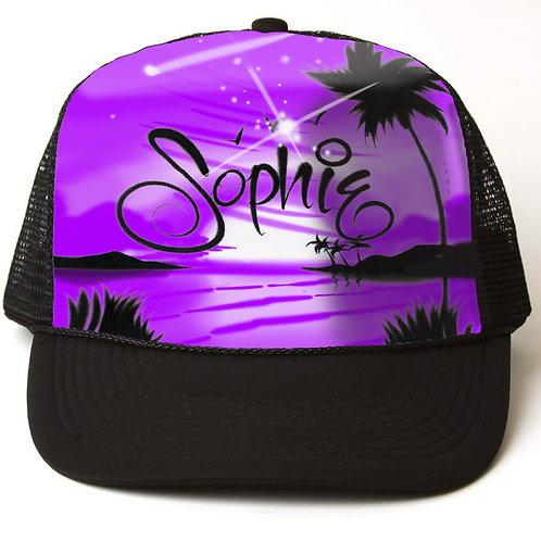 Wolff Beach Sunset Hat