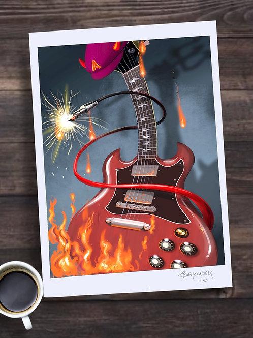 Angus's SG 13X19 print