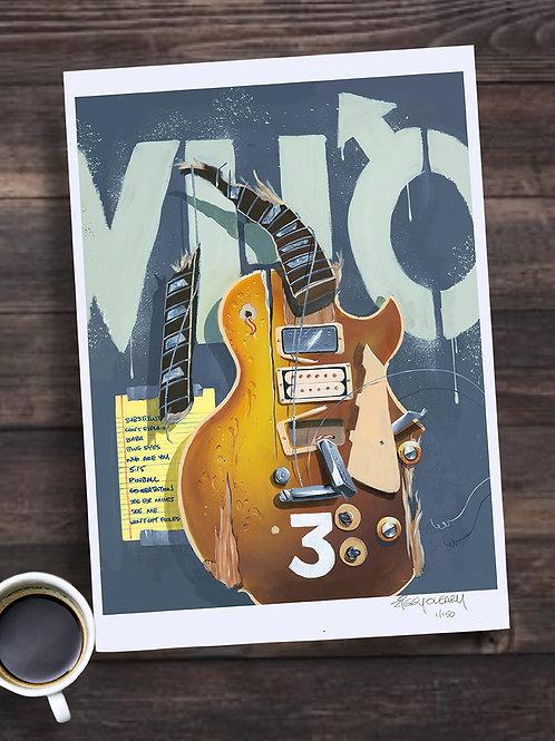 "Pete Townshend (The Who) "" 13X19 print"