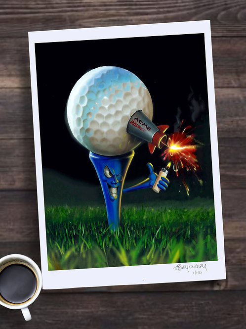 321 Fore! Limited Edition Print