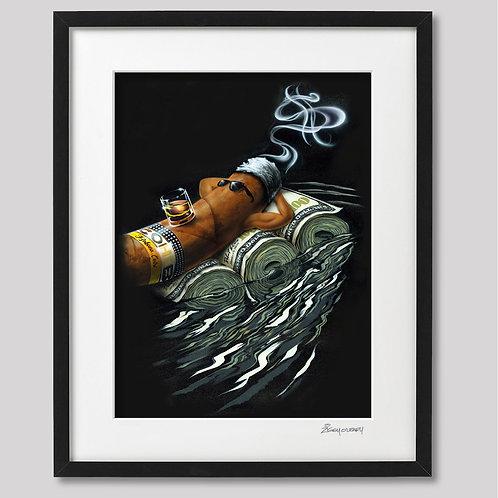 """Rollin' Solo"" framed print"