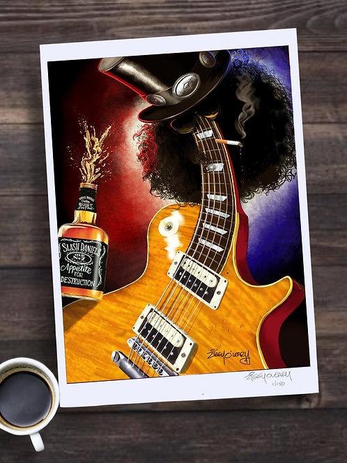 Slash Limited Edition Print