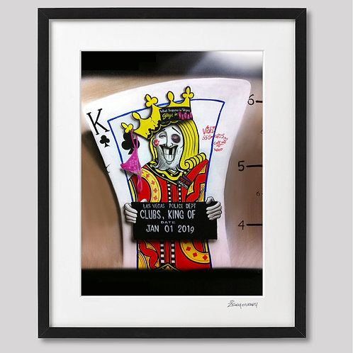 """""""Oh what a Knight"""" framed print"""