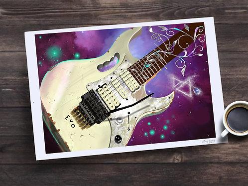 Steve Vai's EVO 13X19 print