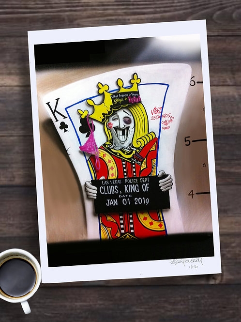 Oh What a Knight Limited Edition Print