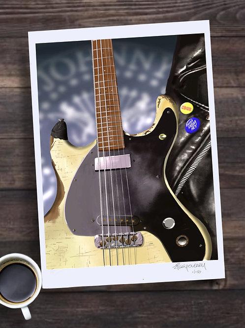 Johnny Ramone Limited Edition Print