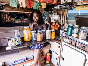Eco Friendly Van Life with Noami and Dustin of Irie to Aurora