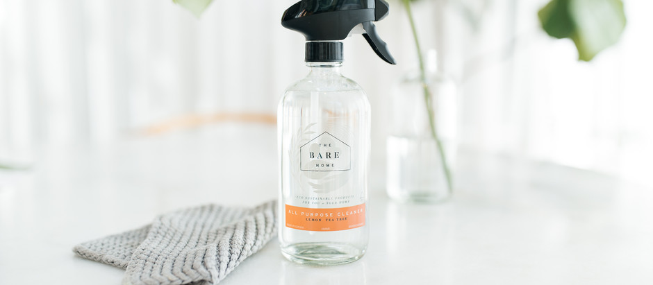 Low Waste Cleaning Ideas that Anyone can get Behind with The Bare Home!