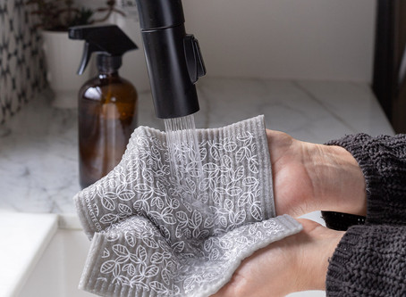 How to Sustainably Clean Your Home with DIY Recipes and a Swedish Sponge Cloth