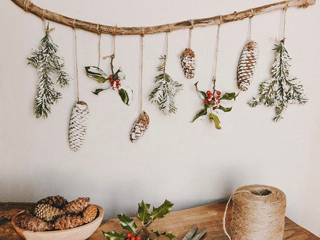 DIY Holiday Decor that's all Natural, Zero Waste and Compostable!