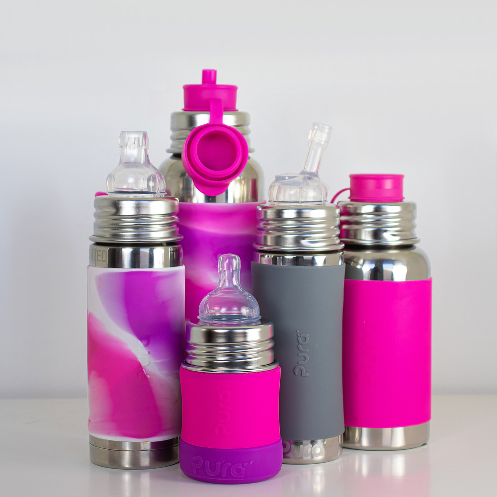 Reusable Water Bottles for the Whole Family