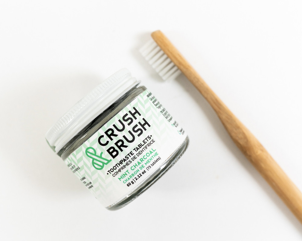 toothpaste bamboo toothbrush