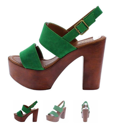 Green Suede Fab