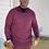 Thumbnail: Men's Lightweight Burgundy  Sweater