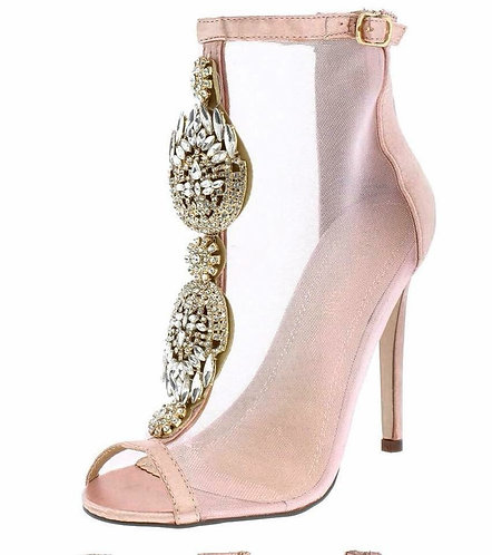 Blush Diamond Heels