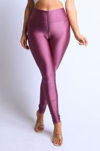 Vivid Violet Spandex Leggings