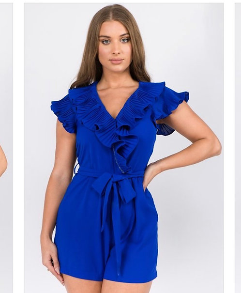 Royal Blue Rompers