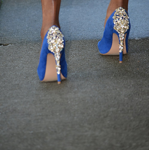 Diamond Blue Heels