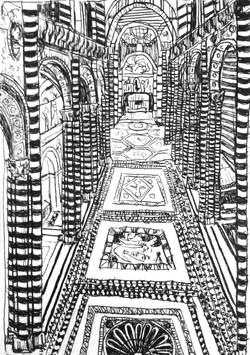 Interno del Duomo di Siena