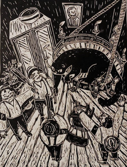 """Behemoth sfugge alla Polizia"""